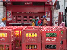 Coca cola distribution area article