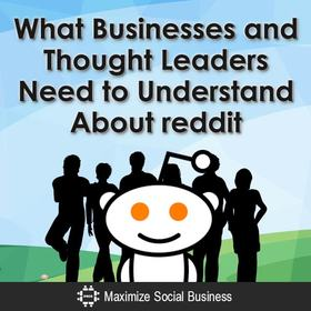 What businesses and thought leaders need to understand about reddit v1 article
