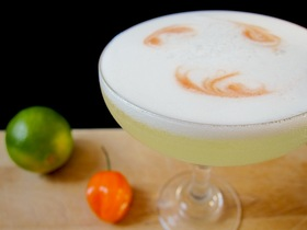 Habanero pisco sour article