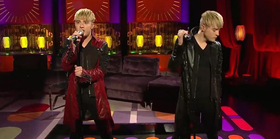 Jedward premiere their new song ferocious on rte one 01 article