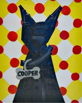 Cooper dog folkart article