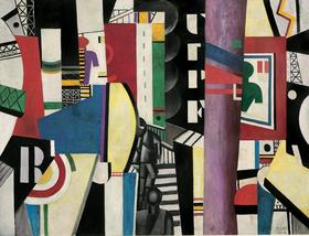 Image 2  the city 1919. fernand leger french 1881 1955   c  artists rights society new york   adagp paris article