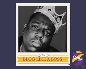Blog like a boss article