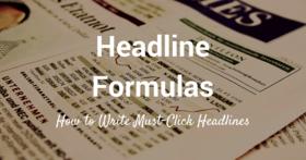 Headline formulas article