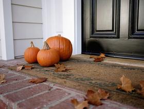 Seasonal doormats article