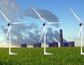 Power plant  wind turbines article