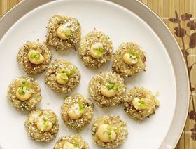Sesame crab cakes article