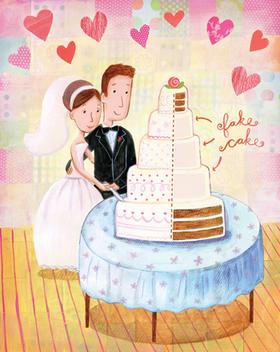 Wedding illus ja article