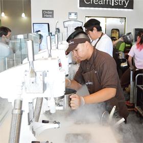 Featured nitrogenated ice cream article