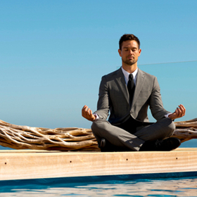 Featured mindfulness meditation exec article