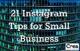 Instagram tips for small business article