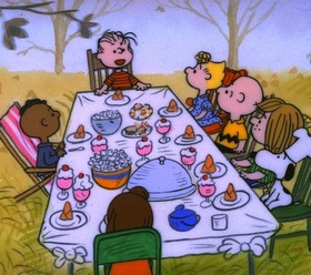 Charlie brown thanksgiving article