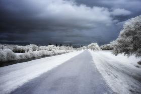 Winter wonderland landscape infared texas greg westfall 2013 article