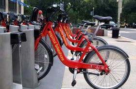 Dc bike share bicycles article