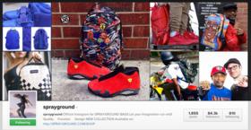 Spray ground instagram article