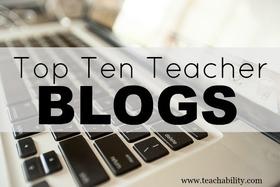 Top teacher blogs article