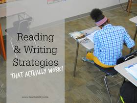 Reading and writing ideas article