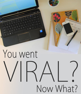 Blogging tips viral blogging now what trusty chucks main article