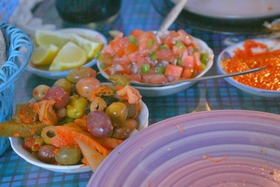 Olives and salads article