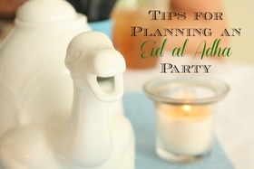 Planning an eid party article