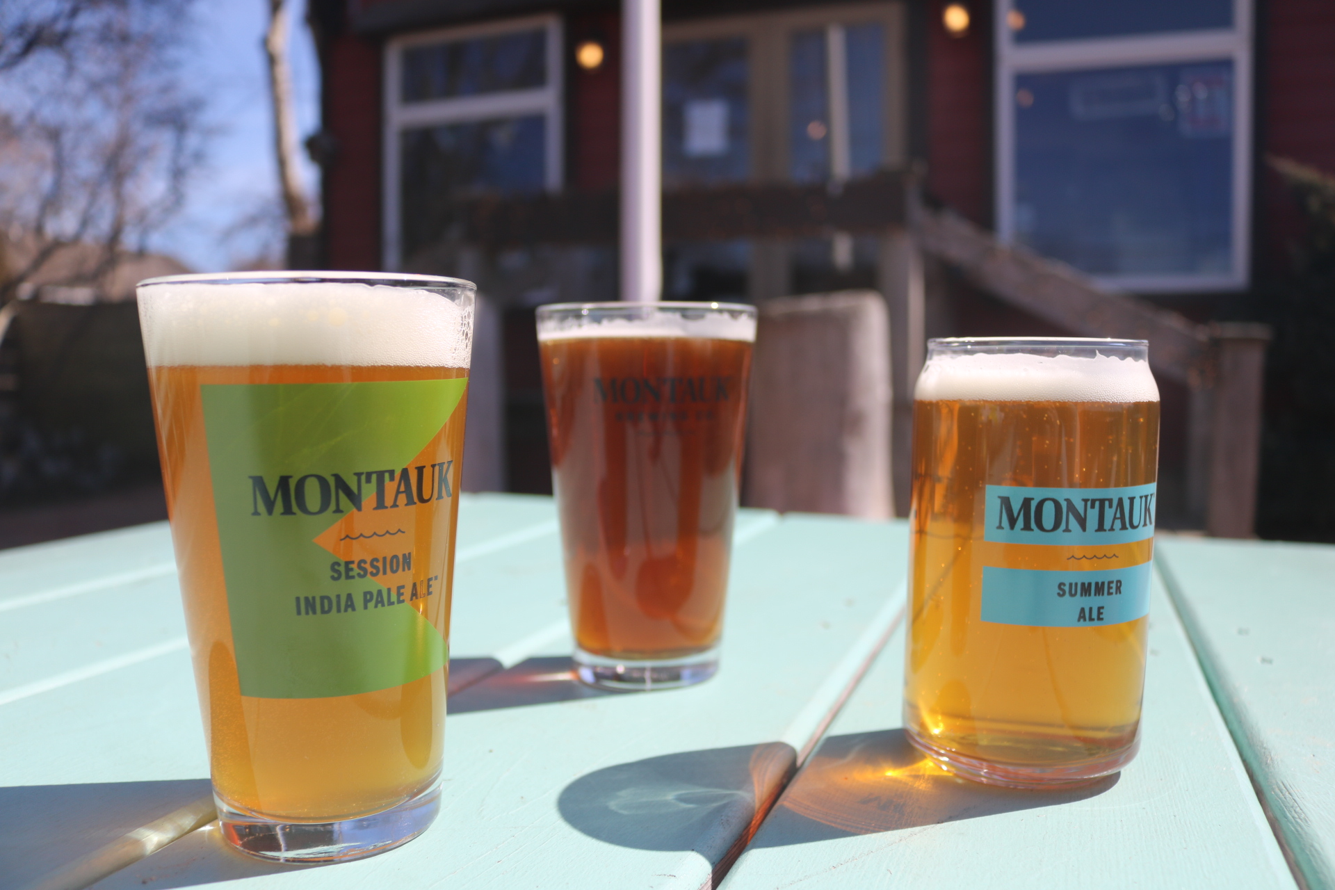 Montauk Brewing Company summer ale