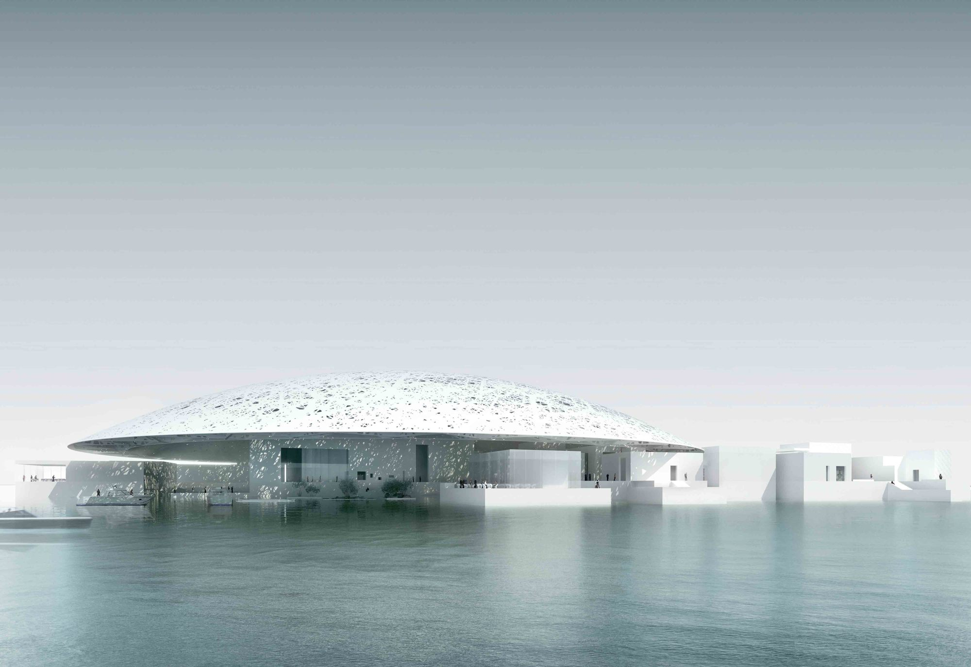 The Louvre Abu Dhabi on Saadiyat Island