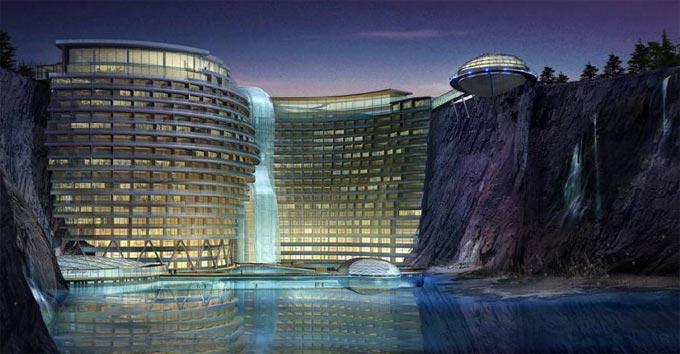Waterworld Hotel in Songjiang China