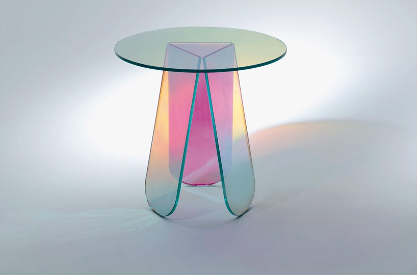 Patricia Urquiola's transparent table