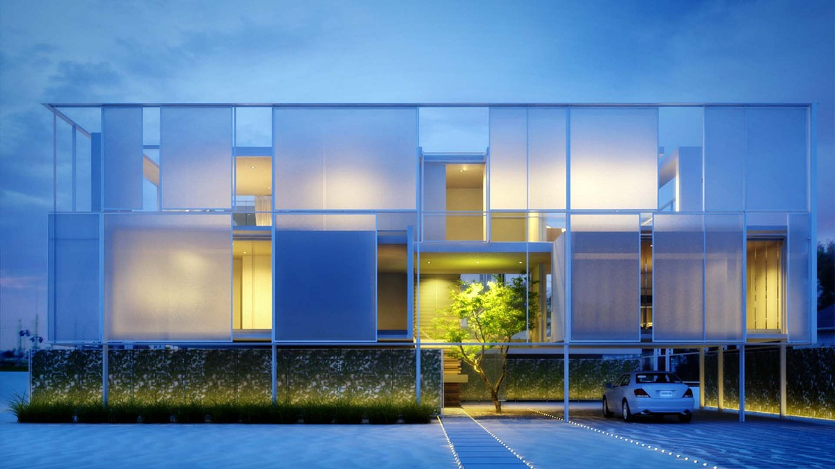 Kanner Architects transparent architectural design