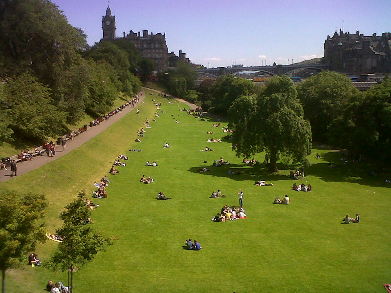 Top 10 Edinburgh - Princes Street Gardens