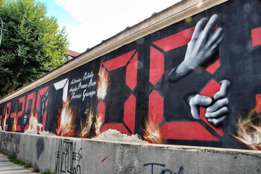 """Murale Thyssenkrupp"" by Maria Grazia Casella"