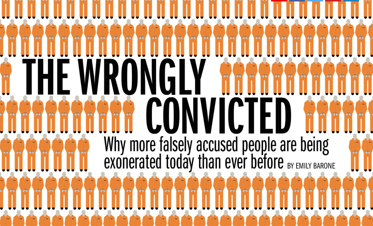 exonerating wrongly convicted people essay People tend to assume that such a thing could never happen to them, said mr dalton, who was wrongly convicted of murder in his wife's 1988 death and was exonerated in 2000 it's not a sexy cause.
