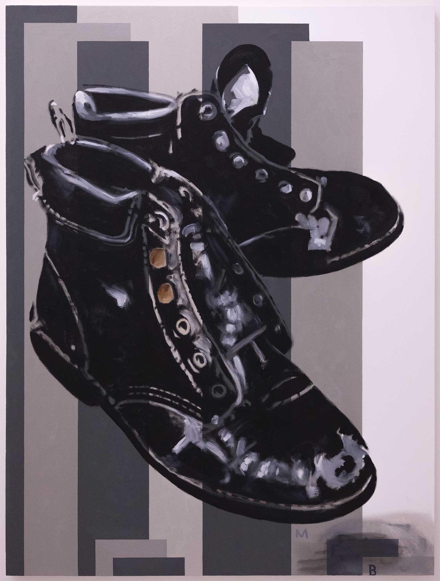 Michael Freeman Badour - Patrick's Boots, 2017