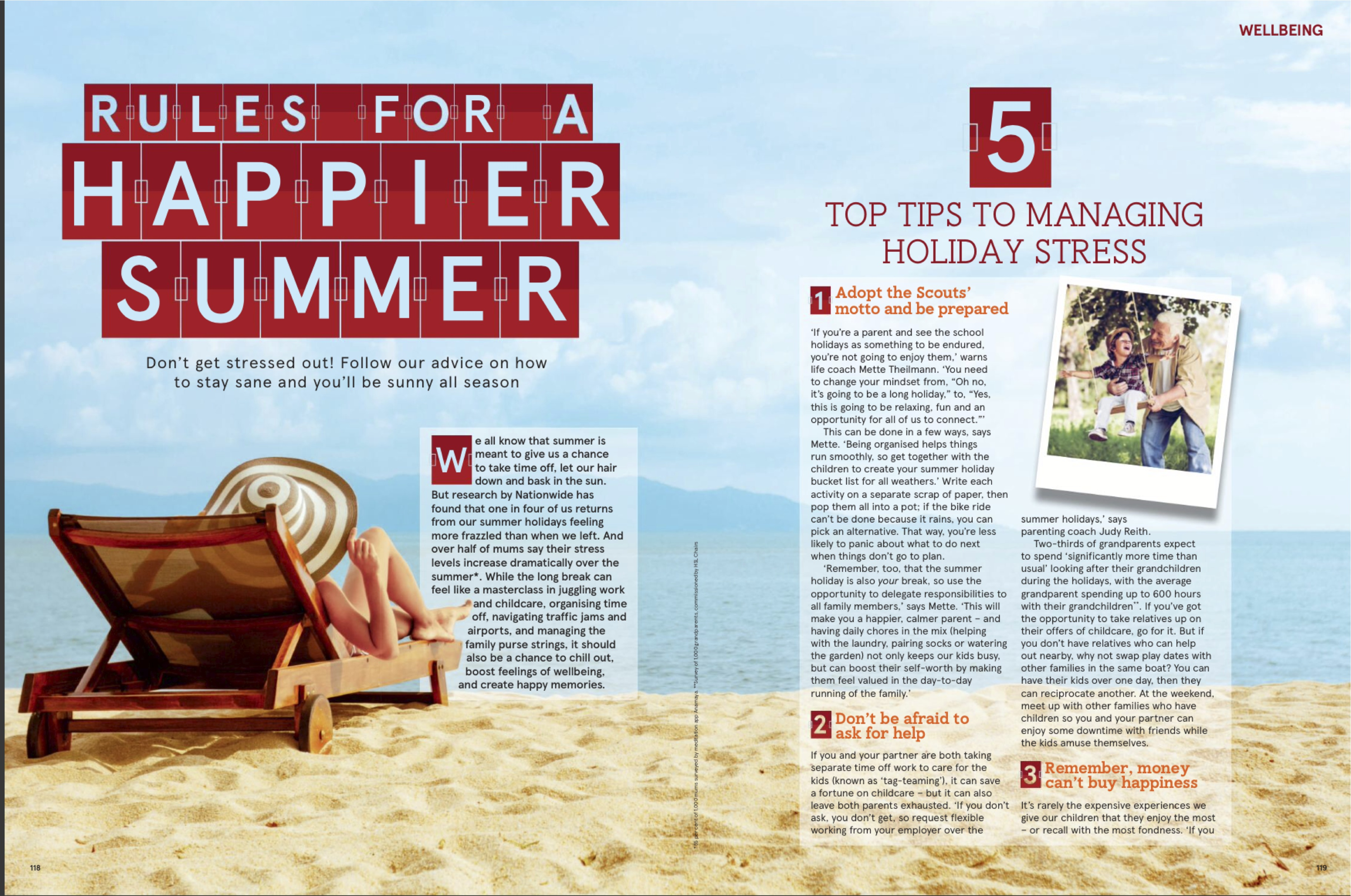 Rules for happier summer