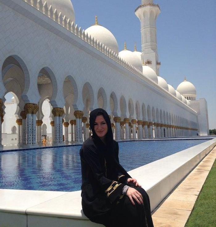 Claire m.  american university sharjah 2
