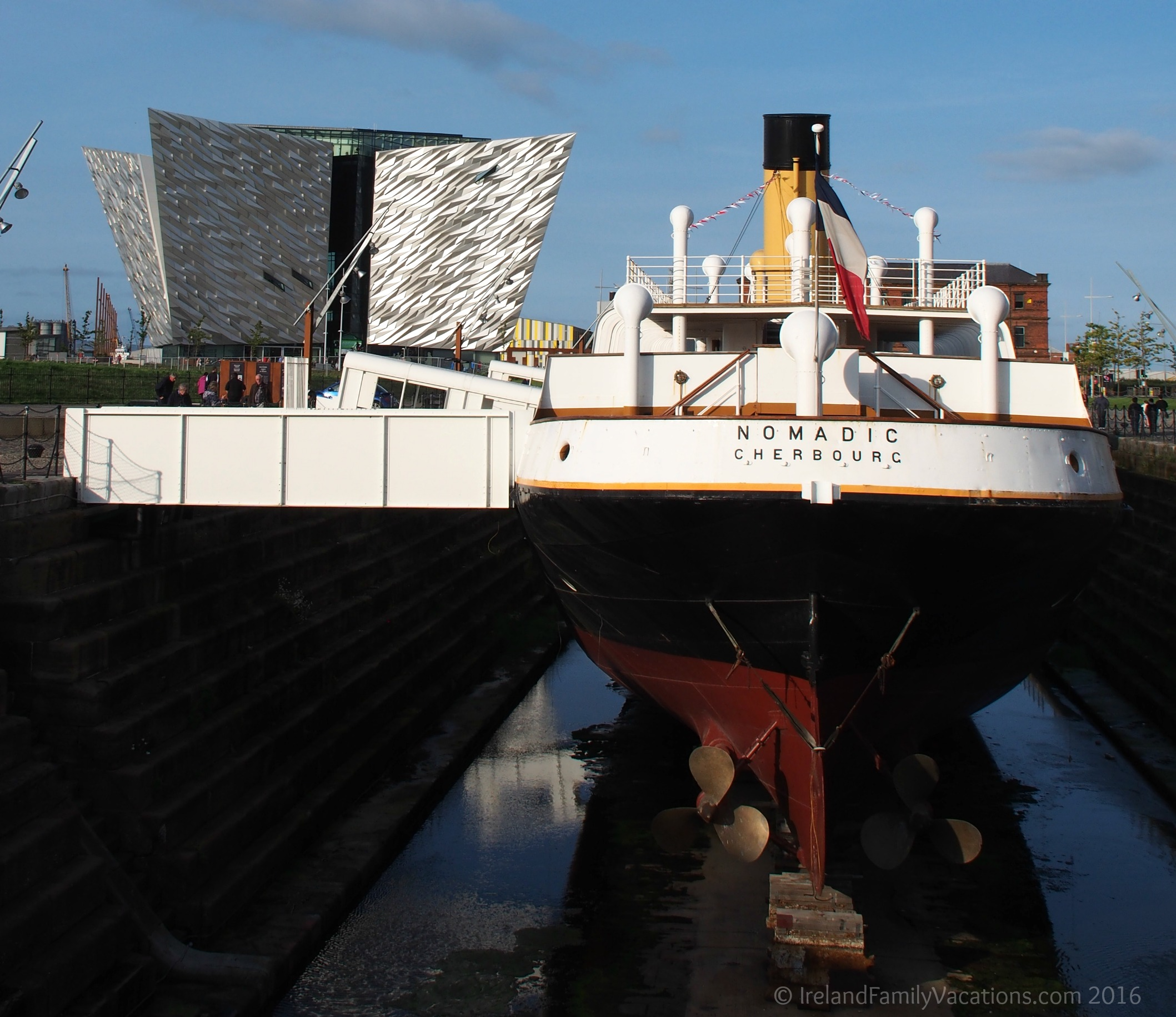 Ss nomadic and titanic belfast