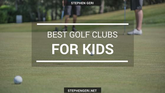 Stephen geri golf for kids