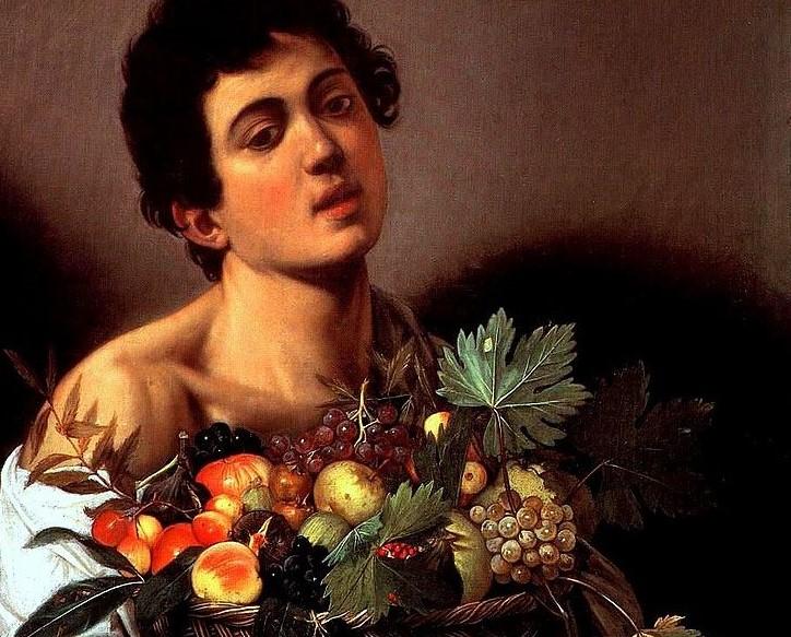 Opere caravaggio i 15 dipinti pi belli for Frutta con la o iniziale
