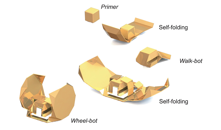 Origami robot topnteaser