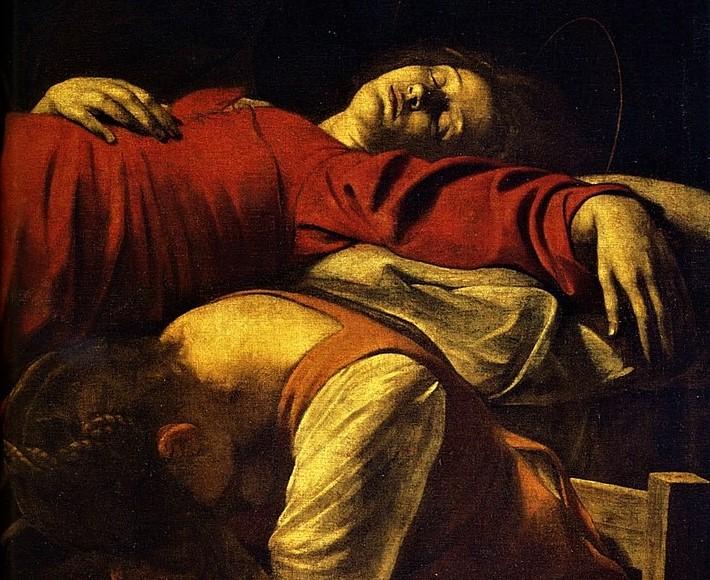 Morte della Vergine, particolare.