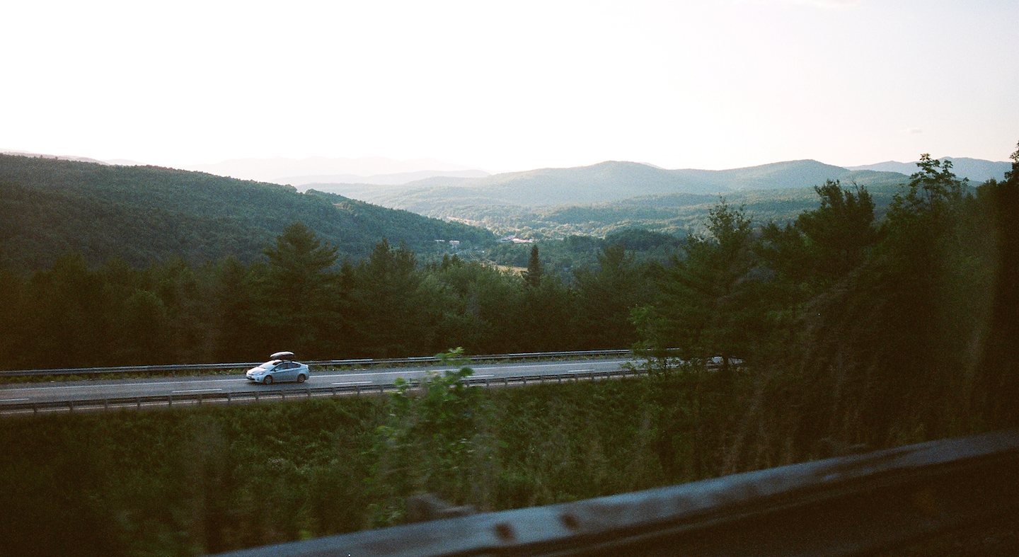 Highway in Vermont
