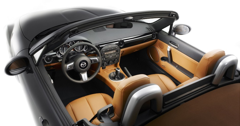 2006 Miata interior