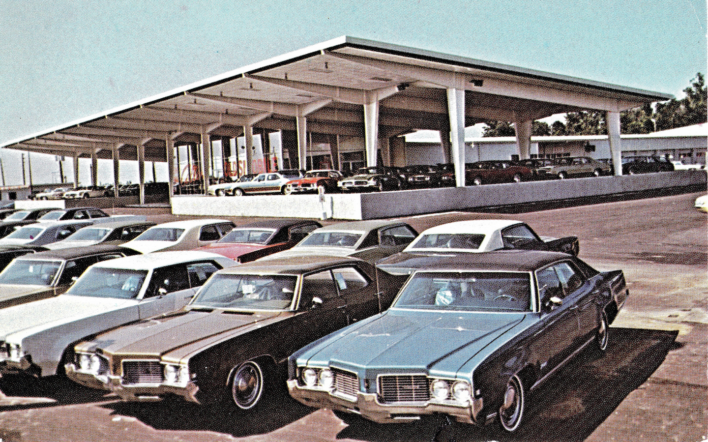 Collins Oldsmobile, Indianapolis IN, 1971
