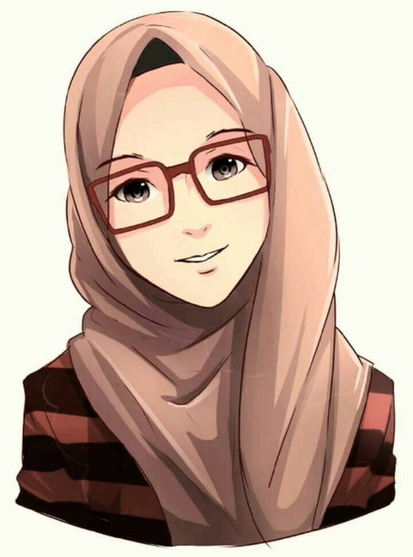 Hijab with glasses by saikojay d9wrv6l