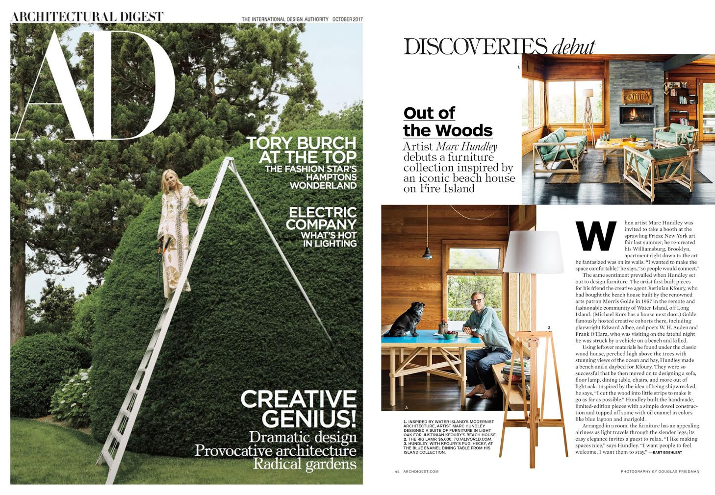 Architectural digest bart boehlert spread