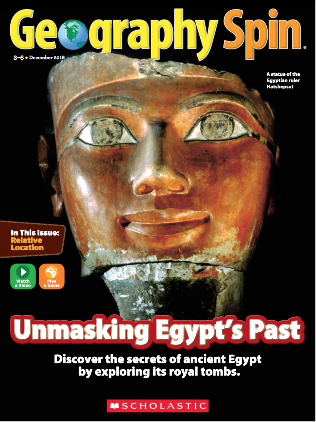 Geospin ancient egypt cover