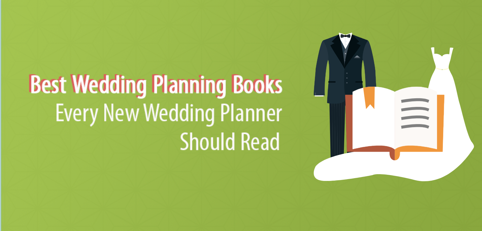5 Wedding Planning Books Every New Planner Should Read