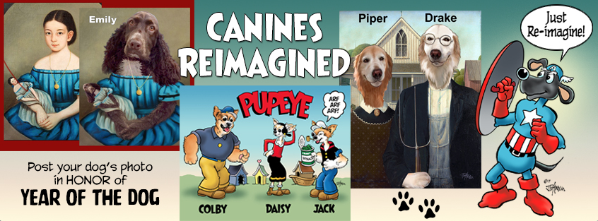 Canines reimagined fb cover