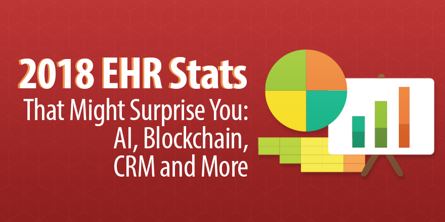 2018 ehr stats that might surprise you ai blockchain crm and more