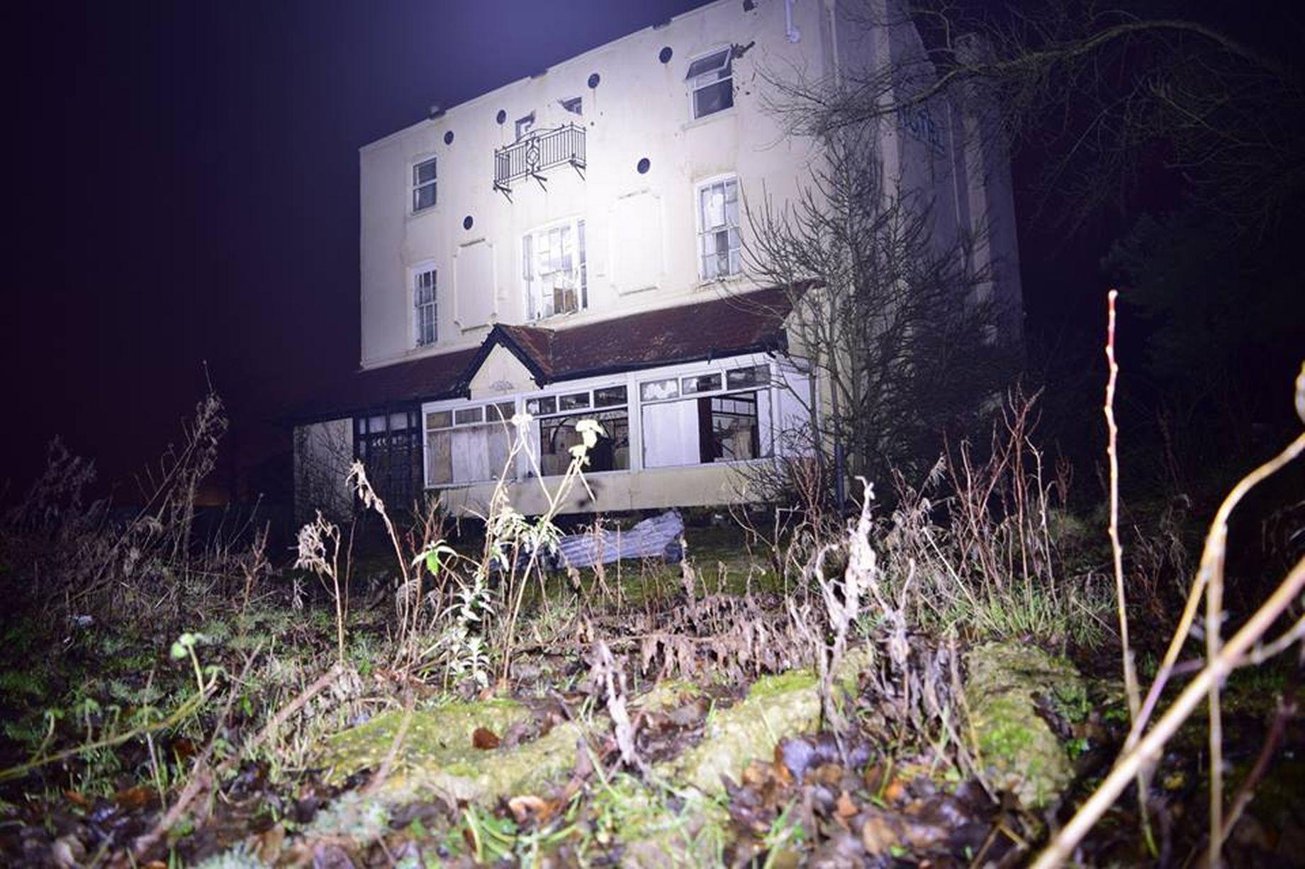 Barham abandoned hotel 1